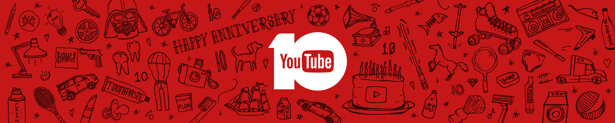 youtube anniversary, design agency