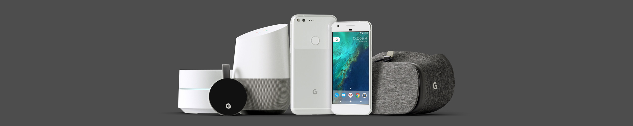 google hardware, keynote design
